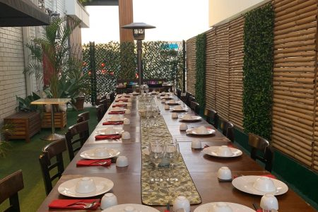CH Alfresco Area (Long Table)